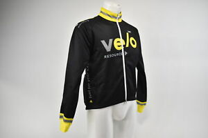 Verge Men's XS V Gear Team Velo Resource Thermo Jacket Black/Yellow