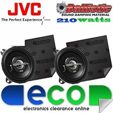 VW Polo 94-00 JVC 10 cm 420 Watts 2 Way Top Dash Car Speakers & Sound Deadening