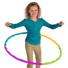 Hula Hoop REGOLABILE PORTATILE SLOT insieme adulto bambino sport aerobica R79 026