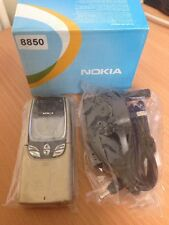 GENUINE UNLOCKED NOKIA 8850 GOLD MOBILE PHONE - RARE CLASSIC VINTAGE RETRO