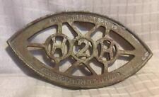 Orig Early 20thc HUMPHREY Cast Iron GENERAL SPECIALTY Co Sad Iron TRIVET
