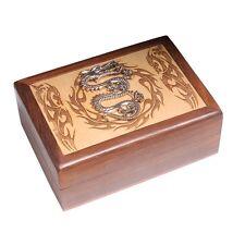Dragon wooden box. Pagan/wiccan storage