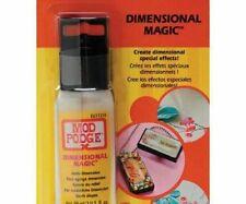 Pegamento Y Pintura espacial Mod Podge Dimensional Magic Brillante 59ml a cuadros Pegamento Liquidación..