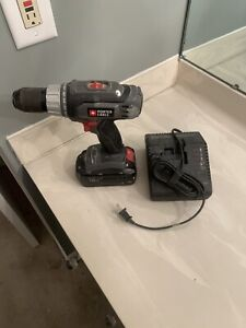 Porter Cable Cordless Drill 18v With Charger and Battery PC1800D