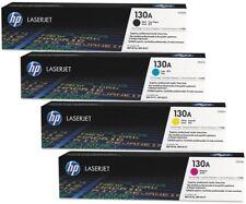 HP LASERJET PRO 130A GENUINE ORIGINAL SET M176N TONERS CF350A 1A 2A 3A M177FW