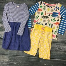 LOT Mini Boden Gap Girls Size 6 7 / Dress Long Sleeve Crop Pants Dinosaurs