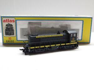 HO Scale - Atlas - 8272 Canadian National S-4 Diesel Locomotive Train #8017