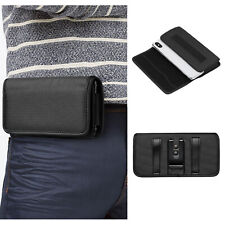 Mens Nylon Waist Bag Belt Clip Phone Pouch Holster Wallet Case Protective Cover