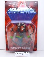 MOTU, Beast Man, 200x, Masters of the Universe, MOC, carded, sealed, He-Man MOSC