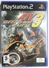 COMPLET jeu ATV OFFROAD FURY 3 pour playstation 2 PS2 francais spiel juego quad