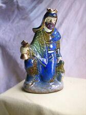 Avon Nativity Figurine~Kneeling Wise Man~King~Ceramic