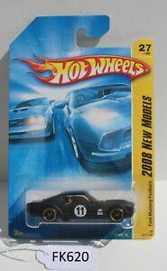 Hot wheels 2008 New Models Ford Mustang Fastback Black 27/40 FNQHotwheels FK620