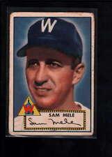 1952 TOPPS #94 SAM MELE VG F2633