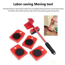 New 5X Heavy Furniture Lifter Mover Easy Slides Transport Set Lifting Duty Tool