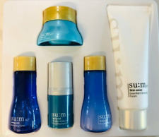 Su:m37 Water-Full 5pcs Special Set Sample Size Moisturizer Anti-Wrinkle+Gifts