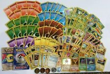 Lot 167 Vintage Pokemon Cards Wizards Trainer Base Character Energy Holo + Coins