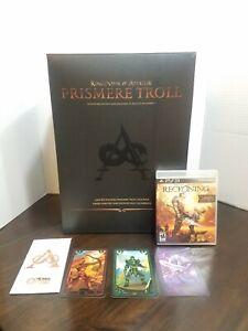 Kingdoms Of Amalur Reckoning Prismere Troll Play station 3 Game Todd Mcfarlane