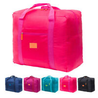 Nylon Storage Container Holdall Bags Rectangle Travel Cabin Overnight Weekend