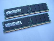 16GB RAM DDR2 ( 2 x 8GB ) Samsung M393T1K66AZA-CE6 PC2 5300P ECC REG CL5 667Mhz