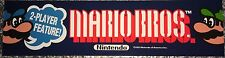 """Mario Bros Arcade Marquee 22.3"""" x 5.8"""""""