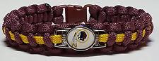 Washington Redskins Burgundy & Gold Paracord Bracelet or Lanyard or Key Chain #2