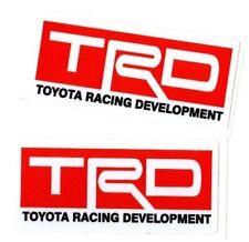 Toyota Racing Development Trd Decals Japan Car Truck Window Sticker Domo Jdm