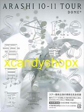 ARASHI 10-11 Tour Scene DOME+ 3DVD+48P Japan limited edition