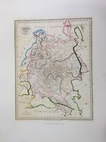 "Russie D'Europe-Map of Russia by Th. Lejeune Lithograph Print, 19 1/2"" x 23 1/2"""
