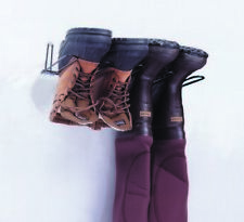 Rackems Boot Rack in Black - Holds 2 Pairs of Boots - Mounted Boot Rack