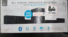 iLive 5.1 Home Theater System with Bluetooth, Wall Mountable, 26 Inch Speaker