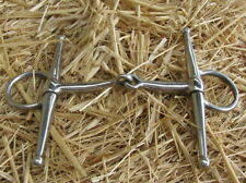 Bit Full Mouth Stainless Steel Snaffle 5 inch