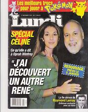"Celine Dion ""Rare"" 'Lundi Magazine"" 7 Pages November 27Th 1999"