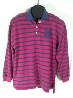 Ricki and Company Leisure Clothing  Womens Purple Striped Top Large GT