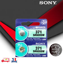 2X PILE Batterie de Montre Sony 371 SR920SW 920 1.55V