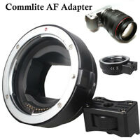 Commlite AF Mount Adapter for Canon EOS EF EF-S lens to Sony NEX E-mount Camera