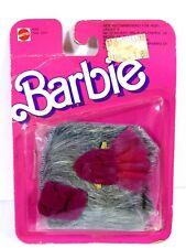 *U772 Nib Barbie Doll 1987 Vintage Fashion Pretty Extras Accessories 4261