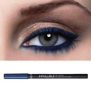 L'Oreal Navy Blue Eyeliner Infallible Gel Pencil Waterproof Smoky Navy Life