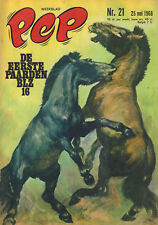 PEP 1968 nr. 21 - HANS G. KRESSE (COVER + HET PAARD)/CESSNA/COMICS