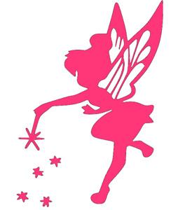Disney, Tinkerbell, Peter Pan, Fairy, Wall, Door, Art, Vinyl, Decal Sticker.