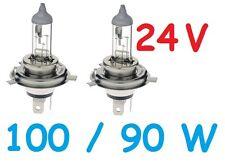 1 pr 24V 24 Volt H4 Globes Bulbs 100/90w Nissan Patrol MQ MK Safari GQ Y61