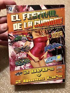 El Festival De La Cumbia! 2 DVD&CD Set -Guerra De Sonidos/ La Conquista Sonidera