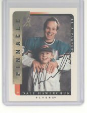Dale Hawerchuk auto autograph card 1996-97 Pinnacle Be a Player NM Flyers