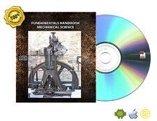FUNDAMENTALS HANDBOOK MECHANICAL SCIENCE Diesel Engine, Pumps, Valves Book On CD