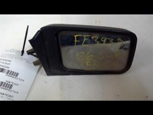 Passenger Side View Mirror Power 3 Door VIN G Fits 86-89 SUBARU PASS. 42729