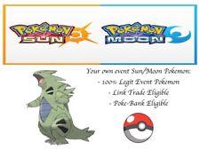 Pokemon Ultra Sun and Moon Korean World Championship2014 Event Pokemon Tyranitar
