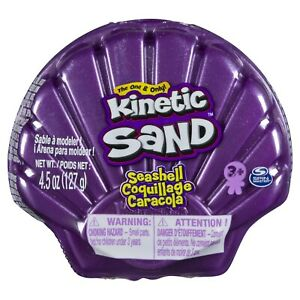 Kinetic Compounds Kinetic Sand Seashell Purple