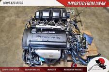 JDM TOYOTA 4A-GE ENGINE BLACK TOP 1.6L 20 VALVE 5 SPEED TRANSMISSION 4AGE AE111