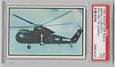 1954 Bowman Power For Peace #42 Navy Sikorsky Marine Helicopter Curiosity PSA 7