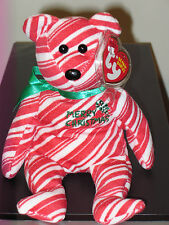 Ty Beanie Baby ~ 2007 HOLIDAY TEDDY the Red Bear ~ MWMT