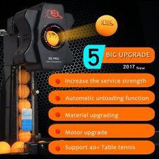 Ping Pong Table Tennis Robot Training Machine Multi Landing Points W/Catch Net
